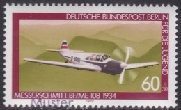 Specimen, Berlin Sc9NB155 Aviation, Plane, Messerschmitt BF/ME 108 (1934), Avion - Avions