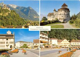 Liechtenstein - Vaduz - Multivues - P. Ospelt Schaan Nº 1001 - Ecrite, Timbrée - 5107 - Liechtenstein