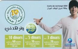11765-SCHEDA TELEFONICA PREPAGATA - TUNISIA - USATA - Tunisia