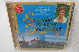 """2 CDs """"So Schön Ist Unser Deutschland"""" Caroline Reiber Präsentiert Lieder, Die Von Herzen Kommen - Música & Instrumentos"""
