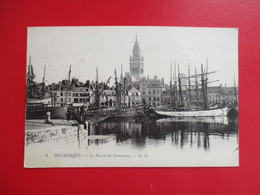 CPA 59 DUNKERQUE LE BASSIN DU COMMERCE - Dunkerque