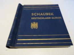 SCHAUBEK - VORDRUCKSEITEN  1851 Bis 1937 ALTDEUTSCHLAND / DEUTSCHES - REICH  Im KLEMMBINDER Ohne MARKEN - Vordruckblätter
