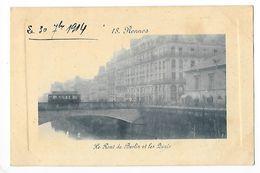 RENNES  (cpa 35)   Le Pont De Berlin Et Les Quais   - L 1 - Rennes