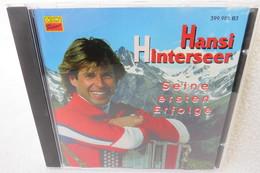 """CD """"Hansi Hinterseer"""" Seine Ersten Erfolge - Music & Instruments"""