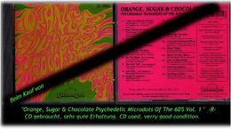 Orange, Sugar & Chocolate PSYCHEDELIC MICRODOTS  - Verry Good Condition.-R- Selten ! - Hard Rock & Metal