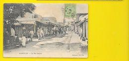 KAIROUAN La Rue Saussier (ND Phot) Tunisie - Tunisie