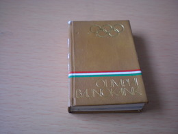Mini Book Hungary Olimpiai Bajnokaink Our Olympic Champions - Books, Magazines, Comics