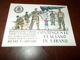 B681  Contingente Italiano In Libano - Militari