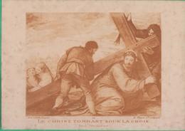 Image Pieuse - Le Christ Tombant Sous La Croix (Paul Véronèse) - Images Religieuses