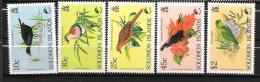 SALOMON - 706 à 710** MNH - Birds
