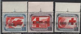 Guatemala 1957 Posta Aerea Y.T. A223/25 MNH VF - Guatemala