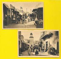SFAX 2 Cp De La Ville Arabe (Combier) Tunisie - Tunisie