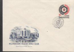3258  Carta Brno 1966 , Mezinarodni Veletrh Brno- Cssr - Tschechoslowakei/CSSR