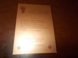 B681  Pellegrinaggio Paracadutisti El Alamein Egitto - Militares
