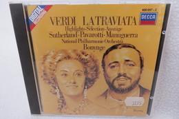 "CD ""Verdi"" La Traviata, Highlights, Auszüge, Sutherland, Pavarotti, Manuguerra - Klassik"