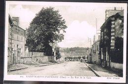 SAINT - MARTIN - D'AUXIGNY . 4 Cartes . - Frankreich