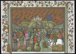 Belgium SG MS3719 2002 700th Anniversary Of Battle Of Spurs Miniature Sheet Unmounted Mint [36/30414/6D] - Blocks & Sheetlets 1962-....