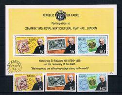Nauru 1979 Briefmarken Mi.Nr. 192/94 Kpl. Satz + Block 2 ** - Nauru