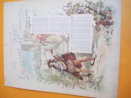 Imprimerie Calendrier Mural Recto/Lithographie BARBAT/ Vve Barbat & Cie Succrs/CHALONS-sur-MARNE/1888     CAL387 - Big : ...-1900
