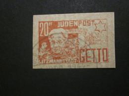 Litzmannstadt 20 Pf. Ghetto  - REPRODUKTION (2) - Besetzungen 1938-45