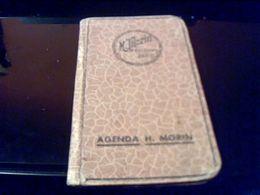 Agenda Publicitairede1945  MORIN - Calendars