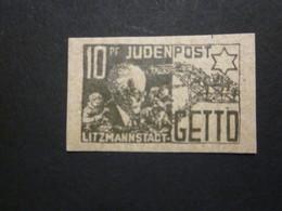 Litzmannstadt 10 Pf. Ghetto  - REPRODUKTION (3) - Besetzungen 1938-45