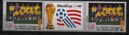 SAINT VINCENT GRENADINES    N ° 2108  * *  (  Bresil )    Cup 1994 Football  Soccer  Fussball - Fußball-Weltmeisterschaft
