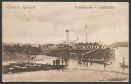 Serbia-----Apatin-----old Postcard - Serbie