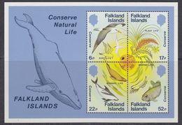 Falkland Islands 1984 Nature Conservation M/s ** Mnh (37809) - Falklandeilanden