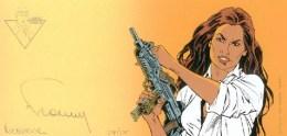 FRANCQ : Exlibris Librairie DURANGO 1998 (ns) - Illustrateurs D - F