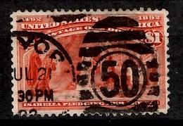 Etats-Unis YT N° 92 Oblitéré. B/TB. A Saisir! - 1847-99 Unionsausgaben