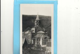 Cpsm Format Cpa.907. ORCIVAL . L'EGLISE ( Style Auvergnat ) Carte-glacee Non Ecrite - France