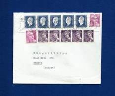 Francia - Sobre (matasellos ONU) Año 1950 - Postmark Collection (Covers)