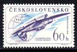 CHECOSLOVAQUIA 1960 - DEPORTES - ACROBACIA AEREA - AVION - YVERT Nº 1104 - Tschechoslowakei/CSSR