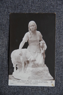 Auguste MAILLARD - L'Adieu Au Troupeau . - Sculptures