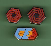 COGEMA *** Lot De 3 Pin's Differents *** N°2 *** 0058 - EDF GDF