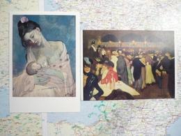 Pablo Picasso 2 Cartes - Pintura & Cuadros