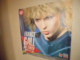France Gall-affiche Zenith 1984 - Posters