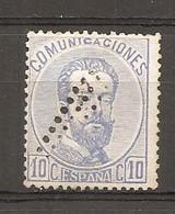 España/Spain-(usado) - Edifil  121 - Yvert  120 (o) - 1872-73 Reino: Amadeo I