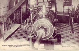 39 Scieries Magnin CHAMPAGNOLES Salle Des Machines - Champagnole