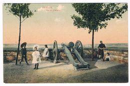 Belle CPA : NAMUR - Sur La Citadelle - Enfants Et Canon Au Panorama - Namur