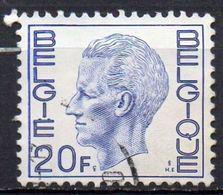 BELGIQUE N° 1587 O Y&T 1971-1972 Roi Baudouin 1er - Used Stamps