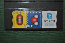 Slovaquie 2011 Chimie MNH - Slovaquie