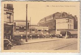 Ath - Place De La Gare. Collège St-Julien - 1946 - L' Edition Belge, Bruxelles - Ath