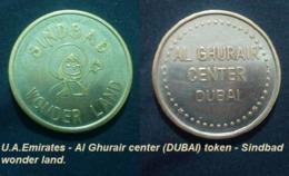 U.A.Emirates - Al Ghurair Center (DUBAI) Rare Token - Sindbad Wonder Land - 23.5 Mm -3.8 G - Agouz - Casino