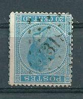 18 Gestempeld PT 318 RUYSBROECK - COBA 6,00 - 1865-1866 Profile Left