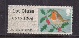 GB 2012 QE2 1st Up To 100 Gms Post & Go Christmas Robin ( T731 ) - Great Britain