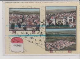 CPSM Grand Format - EN PASSANT PAR ... COURNON - Multivues - France