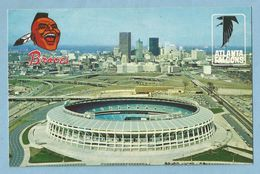 A035  CP  ATLANTA, GEORGIA - Atlanta's Multimillion Dollar Sports Stadium ... Braves And The National Football League's - Atlanta