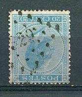 18 Gestempeld PT 329 ST-TROND - COBA 3,00 - 1865-1866 Profilo Sinistro